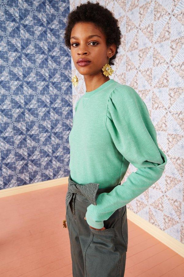 Ulla Johnson Philo Pullover - Turquoise