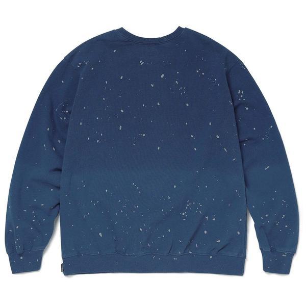 ThisIsNeverThat Dip Dyed Crewneck - Dark Blue