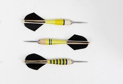 FREDERICKS & MAE Handspun Darts, Set of 3