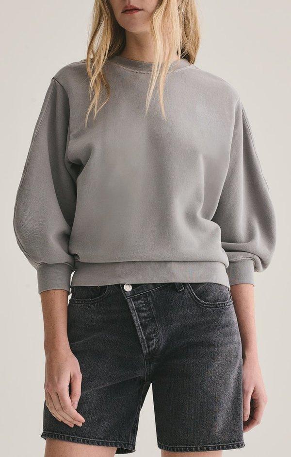 AGOLDE Thora Sweatshirt - Zinc
