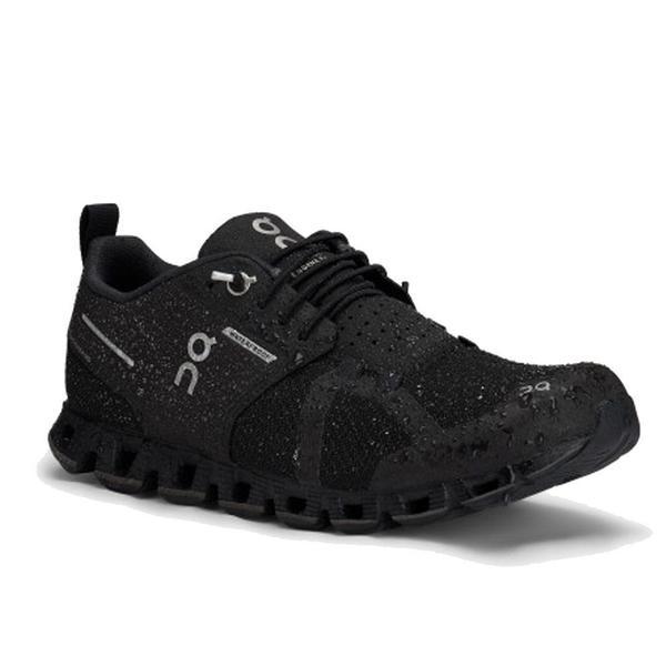 ON Running Cloud Waterproof Sneakers - Black/Lunar