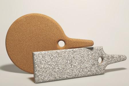 Tinsel & Sawdust Cork/Corian Trivet + Food Board