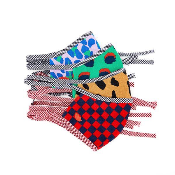Clare V. Set of 4 Bisous Masks
