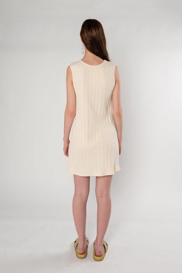 Limb The Label Audrey Dress - Cream