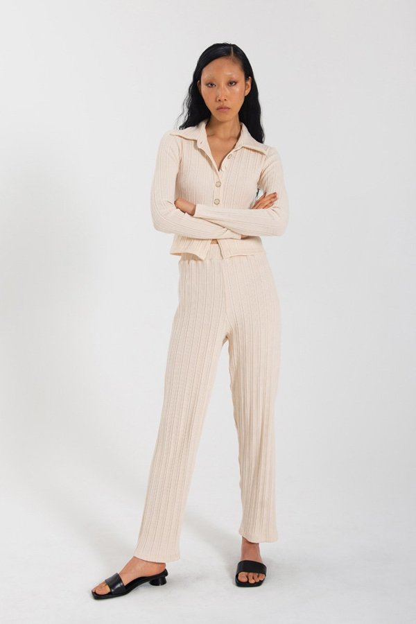 Limb The Label Leisure Pant - Cream