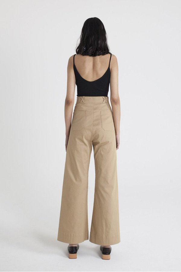 Limb The Label Nara Flare pants - Camel