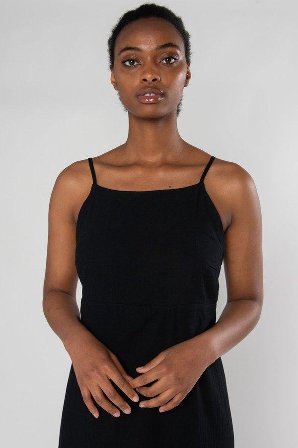 Limb The Label Shaye Dress - Black Crinkle