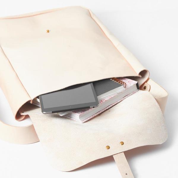 Noah Marion Windy City Backpack - Cream