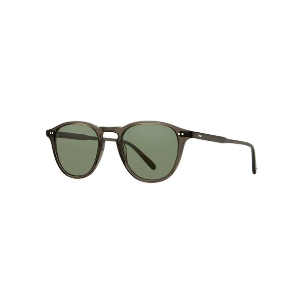 Garrett Leight Hampton Sunglasses - Black Glass
