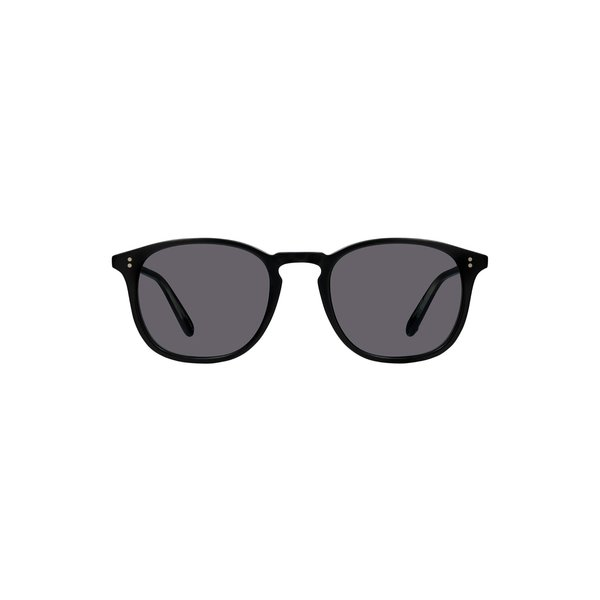Garrett Leight Kinney Sunglasses - Black Matte