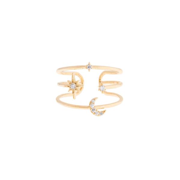 Girls Crew Orbit Adjustable Ring
