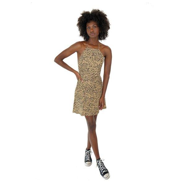 HVN Mini Reece Halter Dress