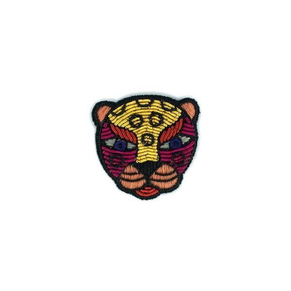 Macon & Lesquoy Leopard Pin -