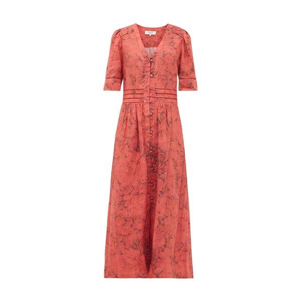 Sea NY  Mimi Rosewood Dress - Peach