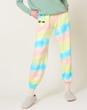 Clare V. Sweatpants - Pastel Tie Dye