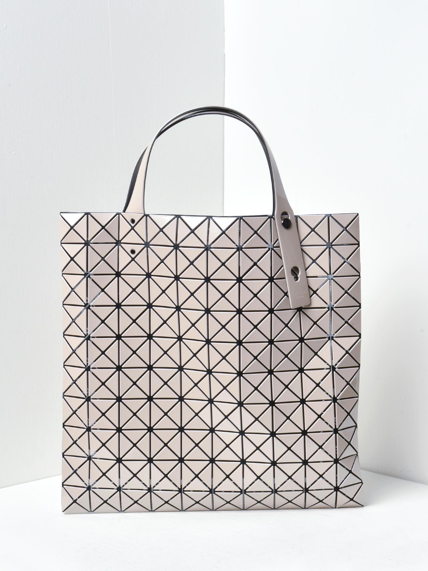 Bao Bao Issey Miyake Prism Bag Beige Garmentory