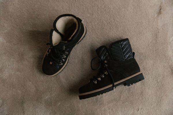 Ganni Winter Hiking Boots