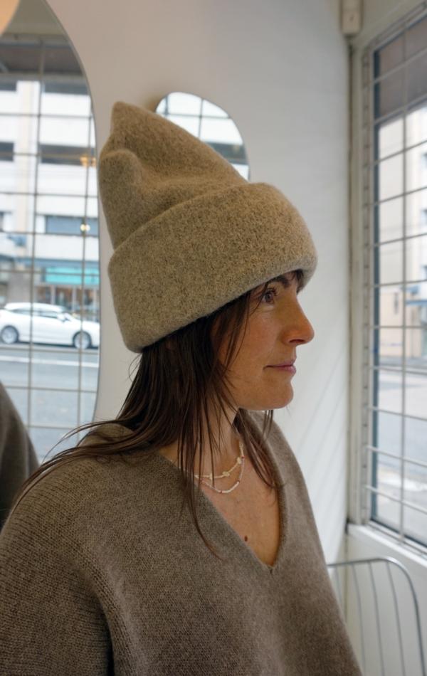 Lauren Manoogian Carpenter Hat - Oatmeal