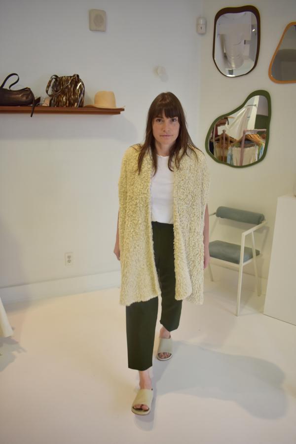 Lauren Manoogian Handknit Tuft Vest