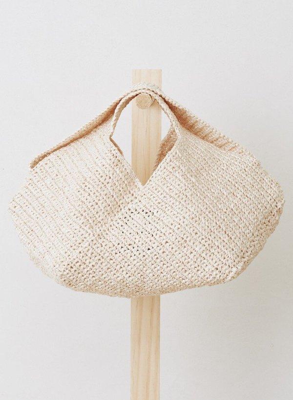 Lauren Manoogian Mini Pinwheel Bag - Plata