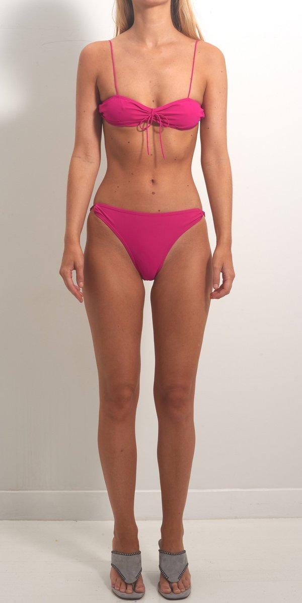 Maryam Nassir Zadeh Val Bikini Top - Magnolia
