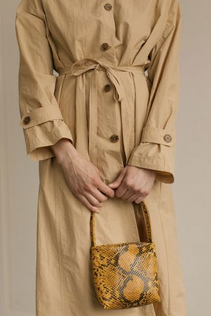 Mijeong Park Light Weight Belted Trench