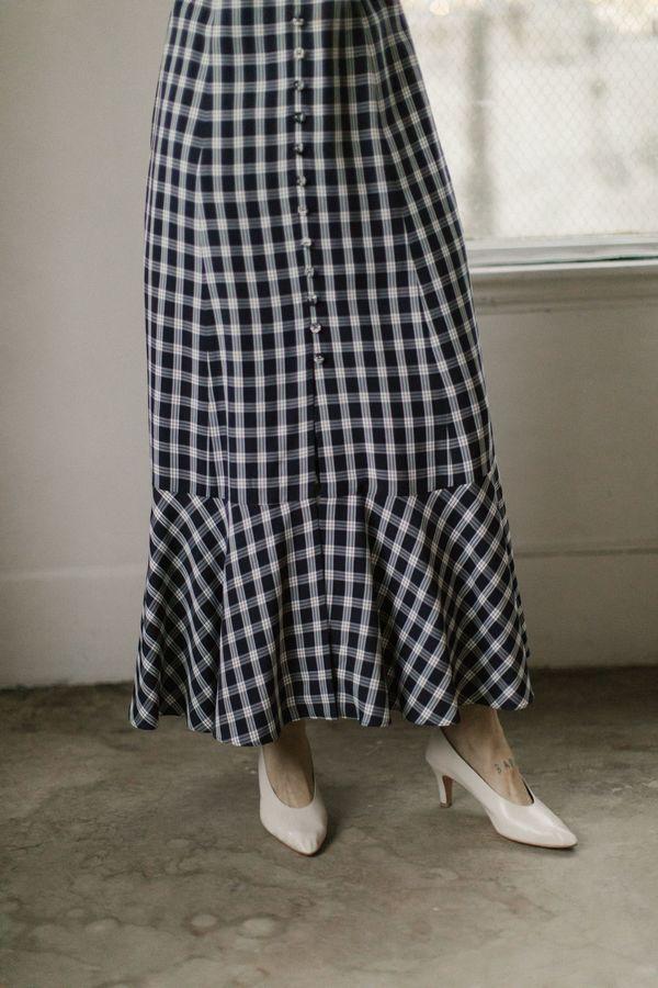 Mr. Larkin Penny Dress - Navy