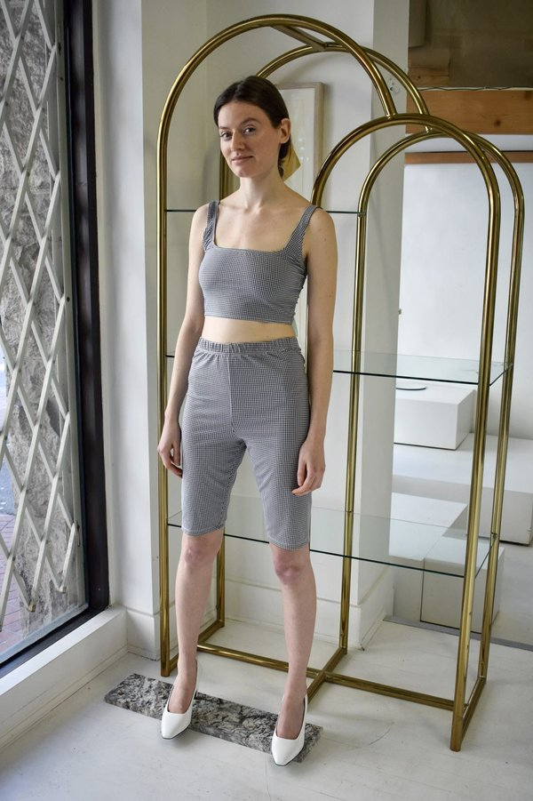 Rita Row Gingham Shorts