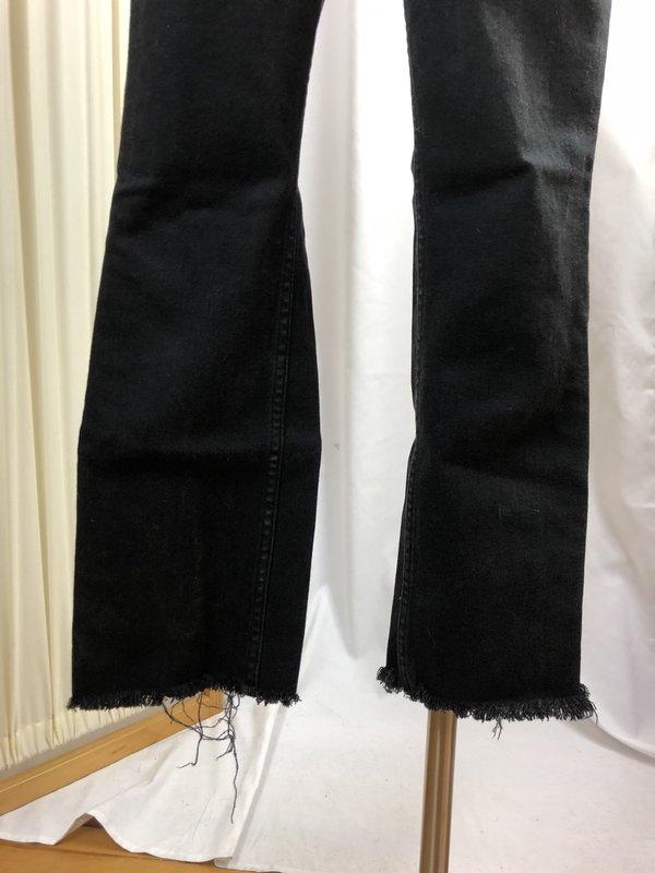 Vintage Everlane Raw Hem Denim - Black