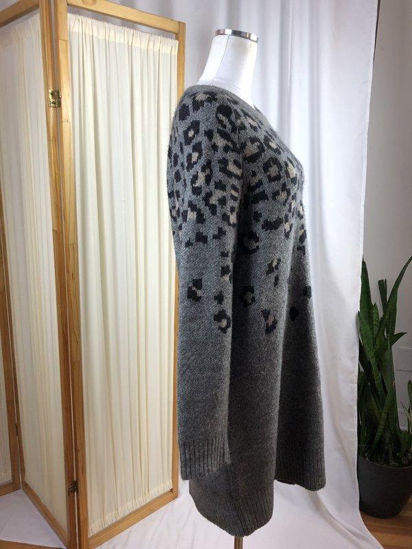 [Pre-loved] Rag & Bone Sweater Dress - Gray Multi