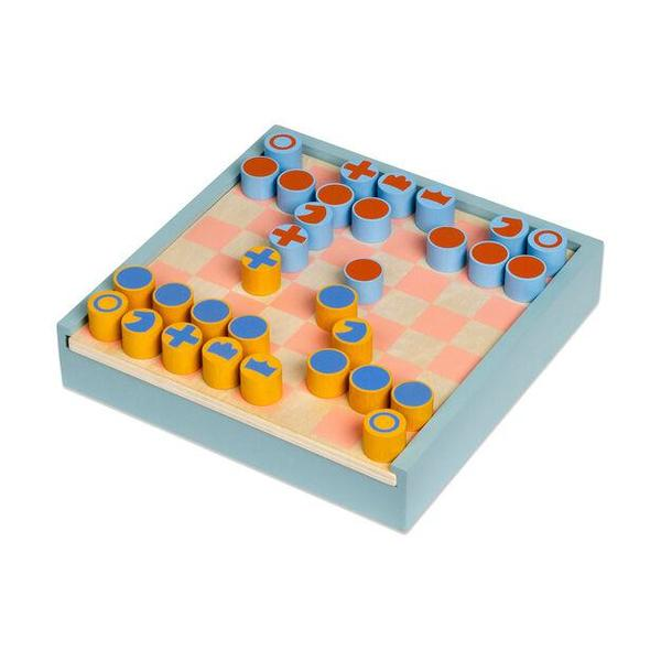KIDS MOMA 2-in-1 Chess & Checkers Set