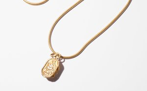 Kindred Black Pushing The Sun Through the Sky necklace - 14k gold