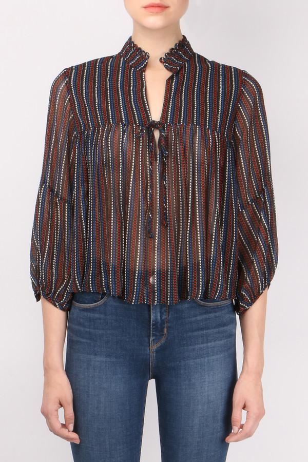 6c9250eec83 Apiece Apart Embroidered Loreto Blouse