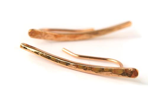 Silversheep Jewelry Hammered Ear Climber