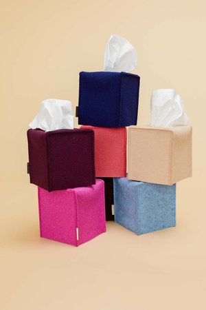 Limited Edition Tissue Box Cover Small