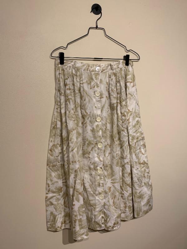Vintage Long Flower Skirt