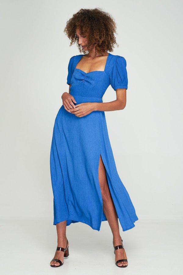 Maya Split Dress Boyd Blue