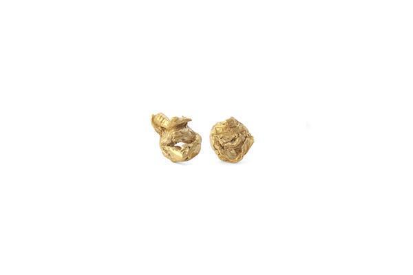 C and V Jewellery Tulip Studs - Gold