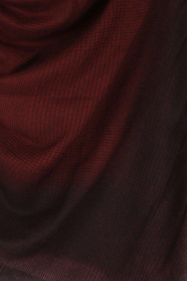 Alonpi Cashmere Spectra Shawl - Wine/Grey Multi