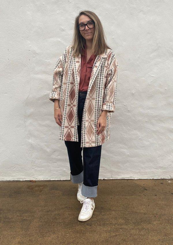 Sabine Jacket- Taos Flannel