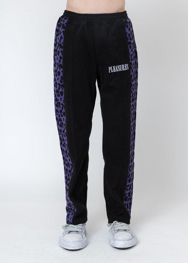 PLEASURES Memories Velour Pants - Black
