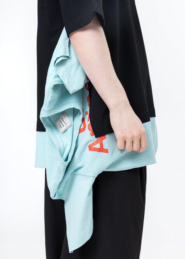 Mihara Yasuhiro Docking Tee shirt - Black