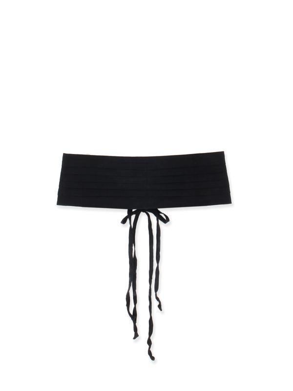 Linen Belt Black