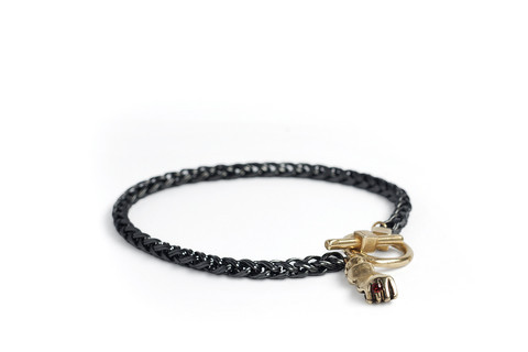 Mercurial NYC Mercurial Bling Ring Fist Bracelet