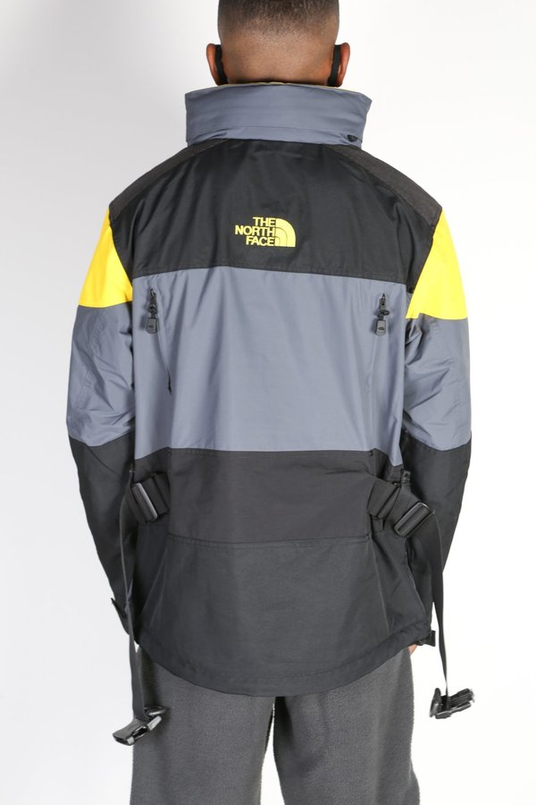 THE NORTH FACE STEEP TECH JACKET - GRAY