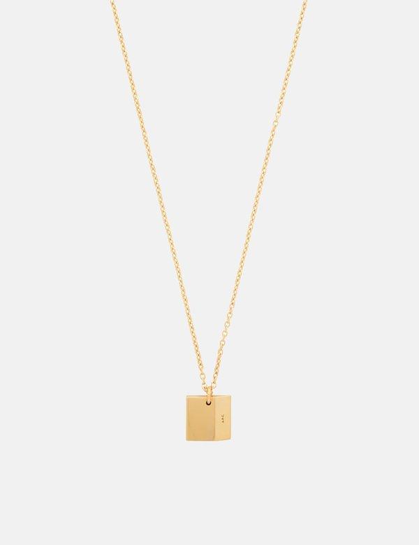 A.P.C. Nolan Necklace - Gold