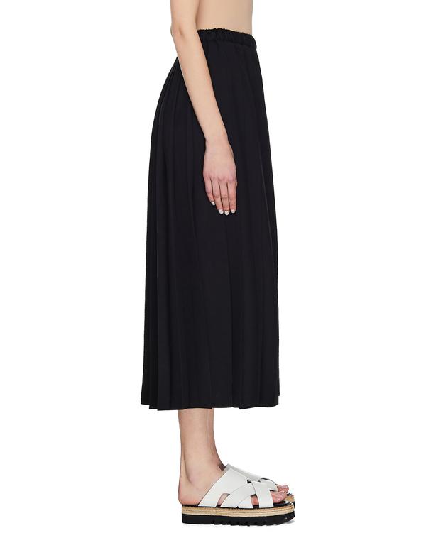 Junya Watanabe Pleated Skirt - Black