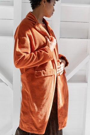 CP SHADES Morgan Coat - Sunset