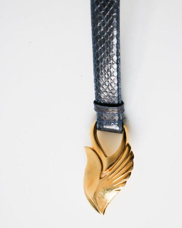 Vintage Snakeskin Belt