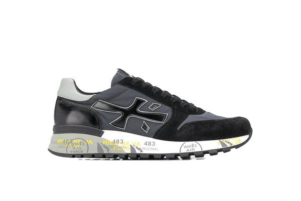 Premiata Mick Sneakers - Black/Grey
